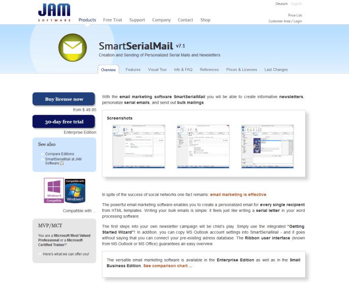 SmartSerialMail_homepage