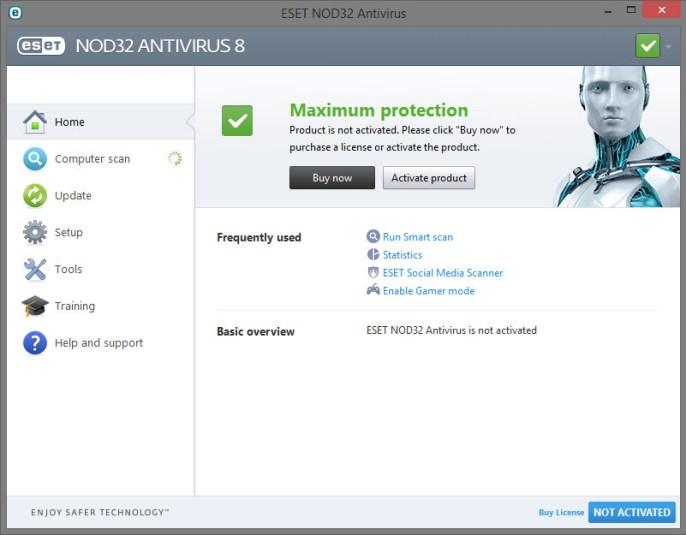 eset antivirus free review