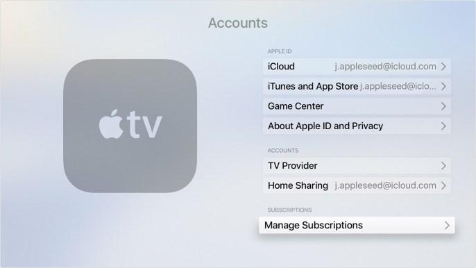 apple subscriptions