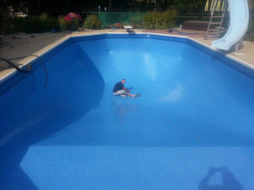 In Ground Pool Vinyl Liner Replacement in Greendale » ASAP