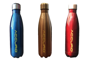 Cola Shaped Bottles Bundled