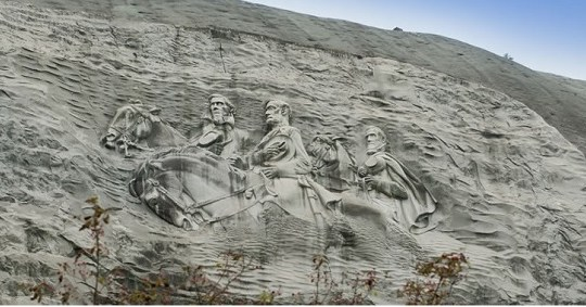 Blow the Face Off of Stone Mountain and the Confederacy?