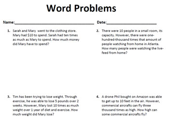 powers-oftens-word-problems