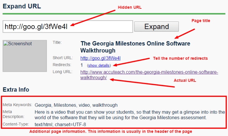 Hidden URL