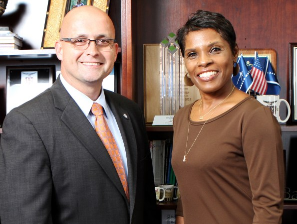 Republican John Barge endorsed Democrat ,  Valarie Wilson's failed bid to become state school chief superintendent. Credit: AJC