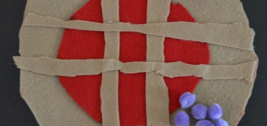 American Pie Tic Tac Toe Craft