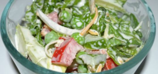 BLT Salad Side Dish Recipe
