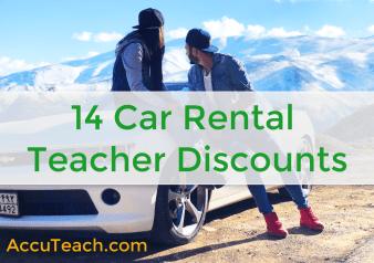 Car Rental Teacher Discounts