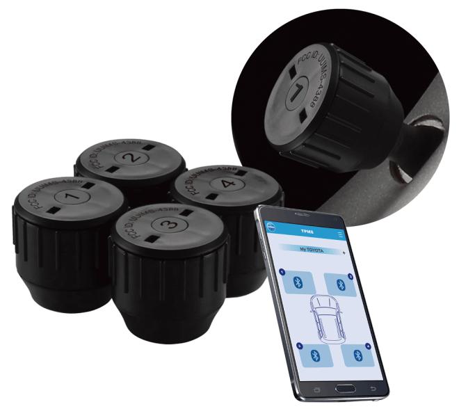 MS-4388 GB - Bluetooth Tire Pressure Monitor System