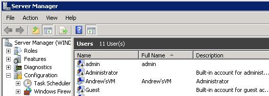 Server Manager Administrator