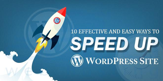 10 Effective and Easy Ways to Speed up WordPress Site ...