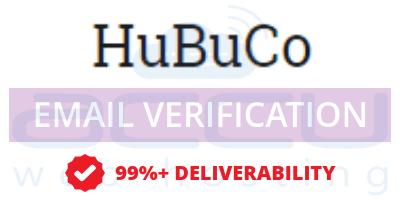 HuBuCo Email Verification