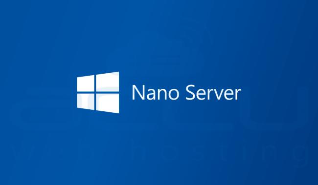 Nano Server in Windows Server 2016