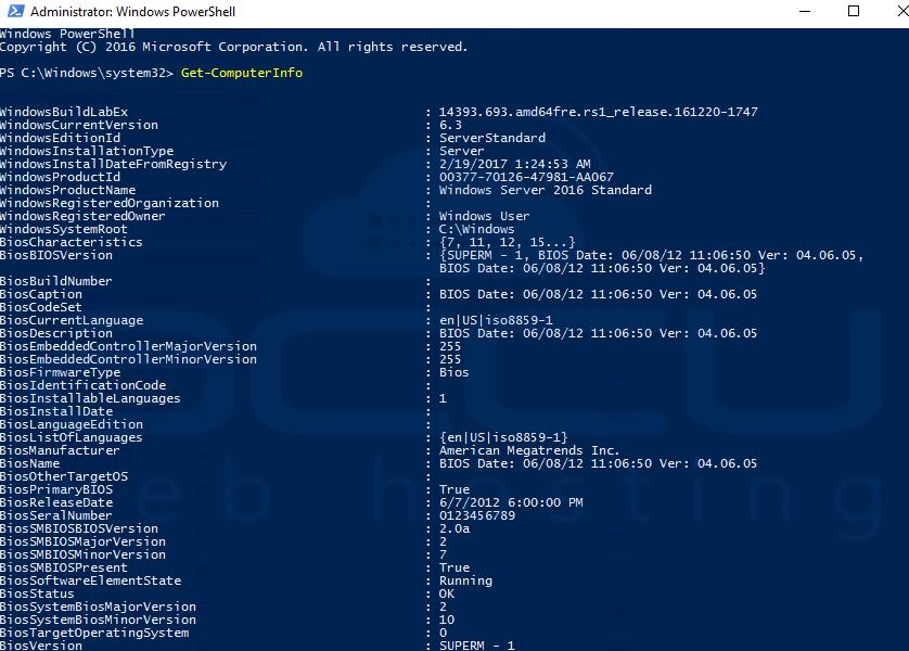 PowerShell 5 In Windows Server 2016