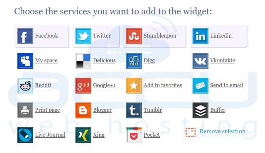 Sharexy Widgets