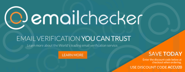EmailChecker.com - Email Verification you can trust