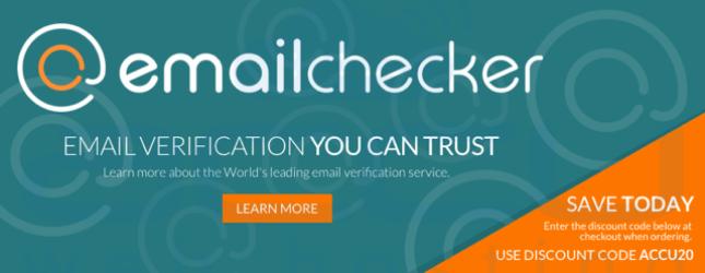 EmailChecker.com - Email Verification you can trust