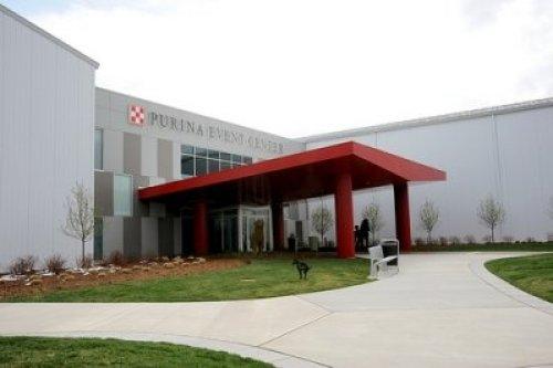 Photo of Purina Event Center.