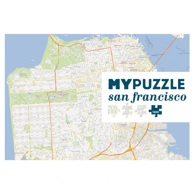 Puzzle: My Puzzle: San Francisco 1000pc