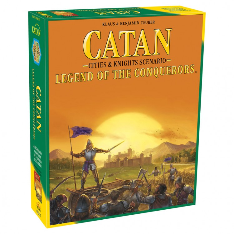Catan Scenarios:Legend of the Conquerors