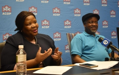 South Africa deserves better and the ACDP is the way to go!