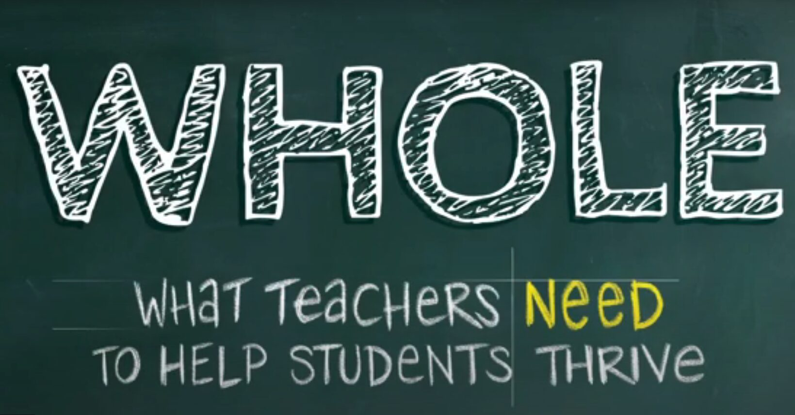 """Key Chapter of """"Whole: What Teachers Need to Help Students Thrive"""" Available to  Educators for Free"""