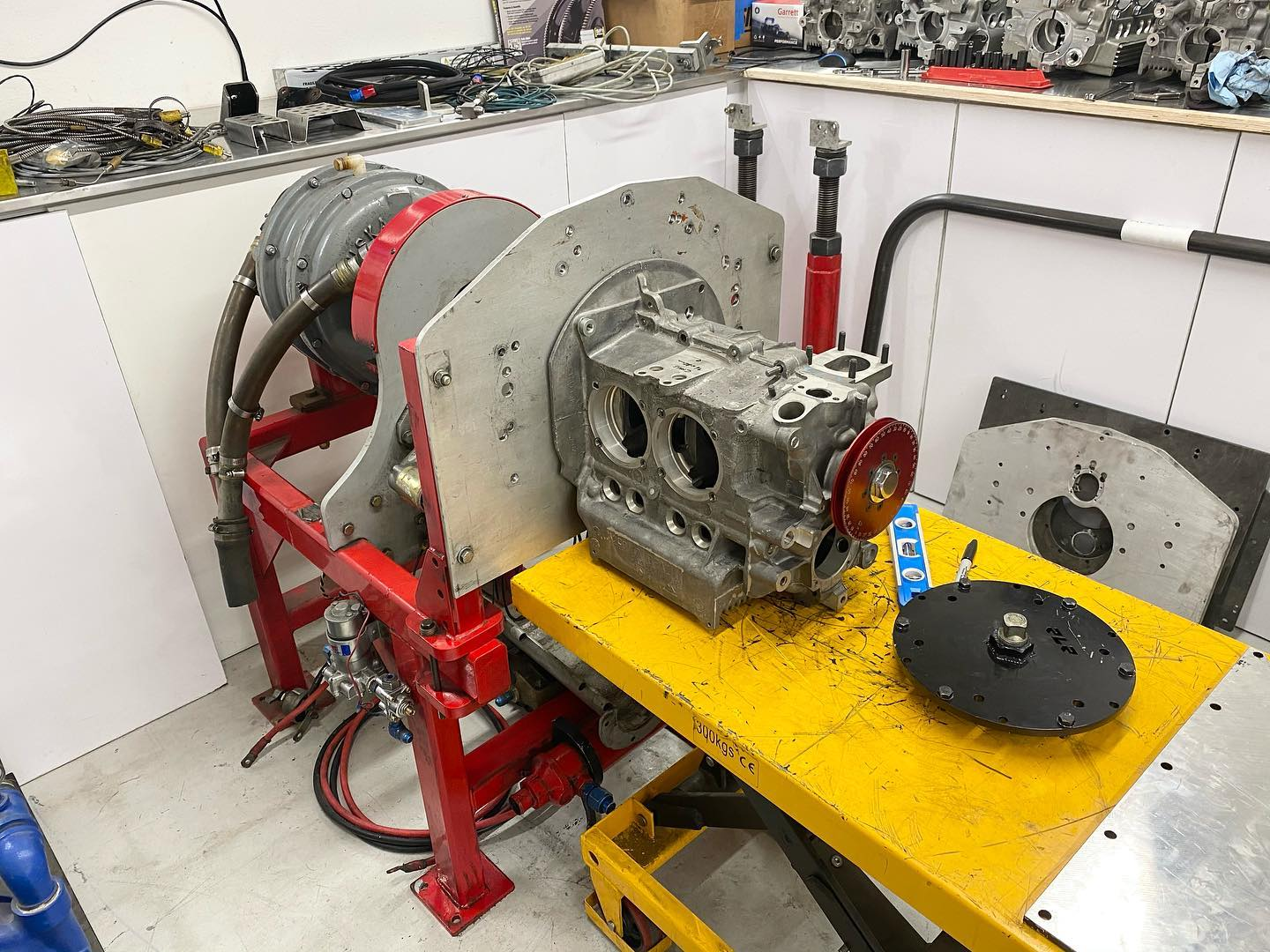 Building the ACE Racing engines Dyno room for aircooled VW and Chevrolet LS engines
