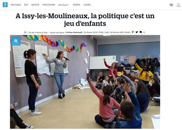 Article sur l'Action catholique ds Enfants dans Le Parisien