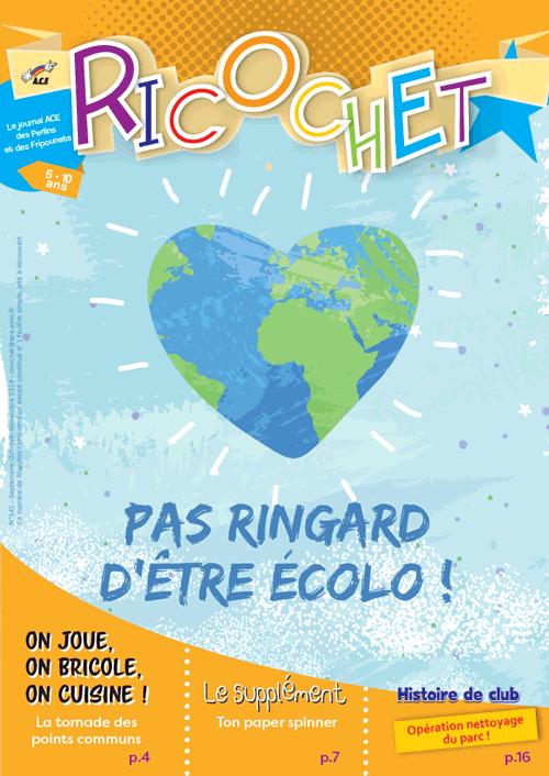 Revue enfant Ricochet n°141 - ACe