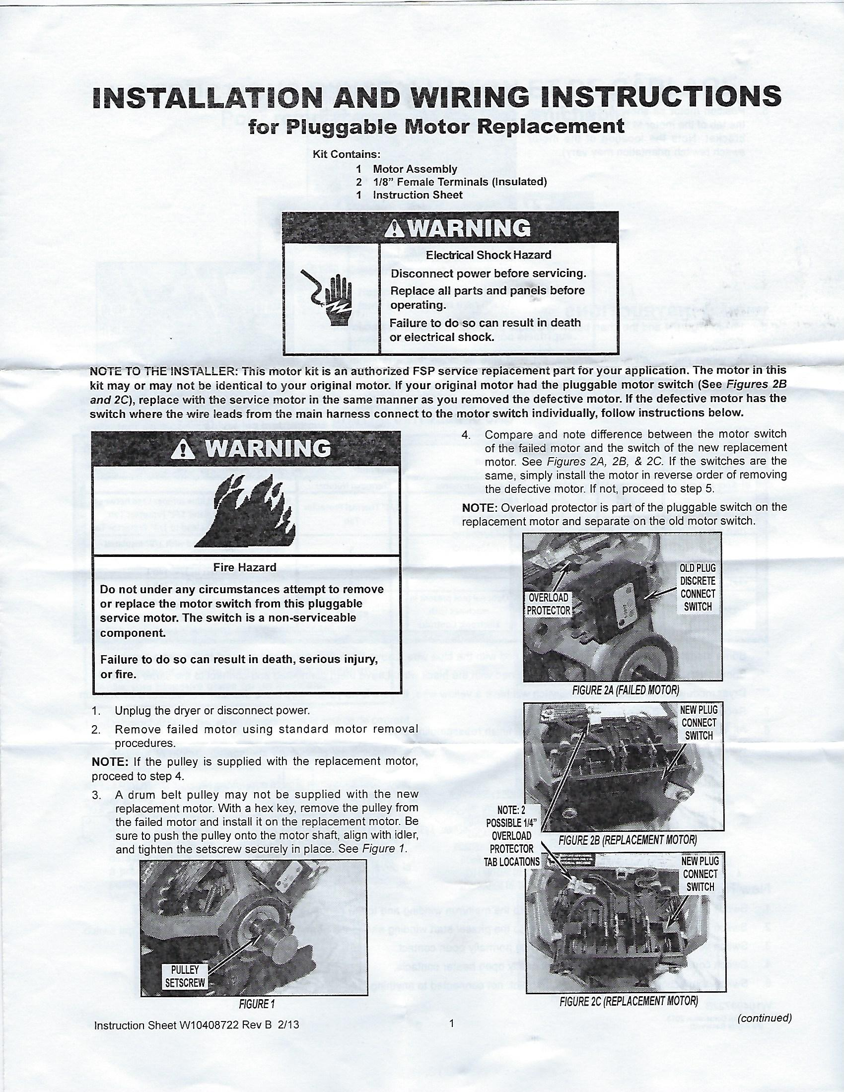 Maytag Dryer Motor Wiring 6 Figure - Block And Schematic Diagrams •