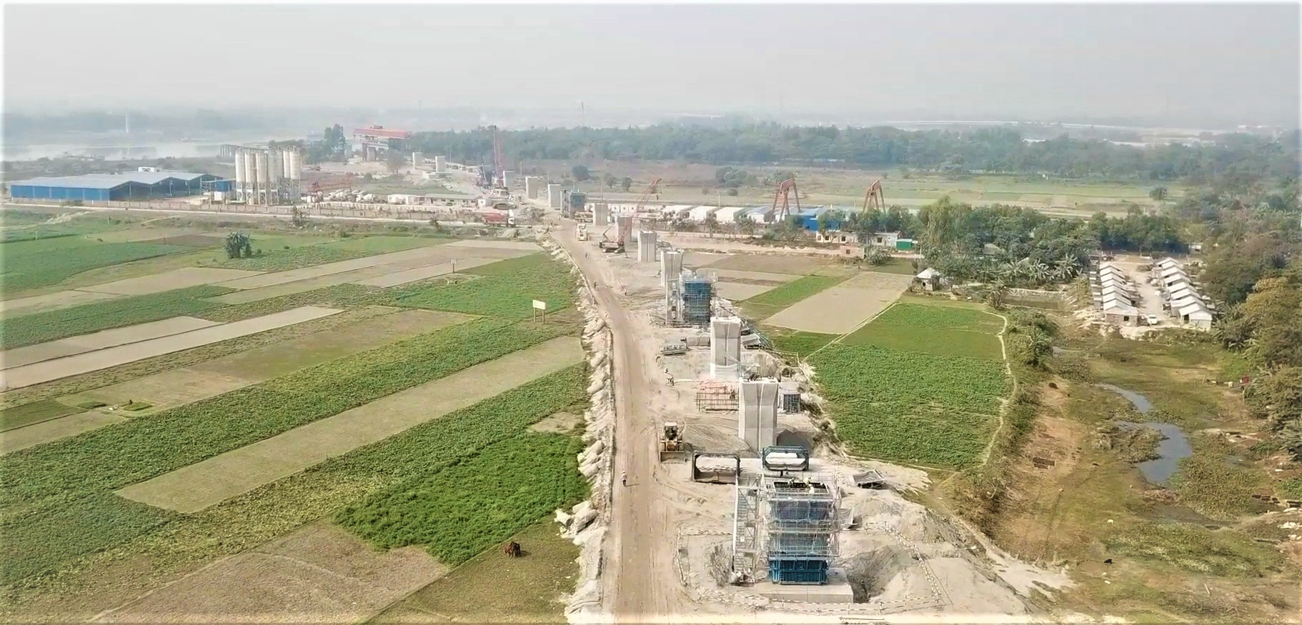 Padma Bridge Rail Link Project funded by China G2G, 2020