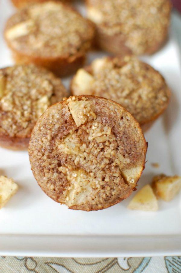 Baked Apple Cinnamon Steel Cut Oat Cups A Cedar Spoon