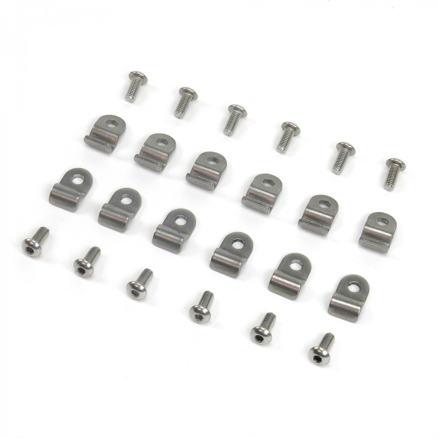 3 16 Stainless Steel Brake Line Clamps Clips Screws