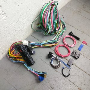 1963  1966 Chevrolet C10 Pickup Truck Wire Harness Upgrade Kit fits painless | eBay