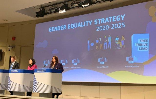 Estratégia Europeia para a Igualdade de Género 2020-2025