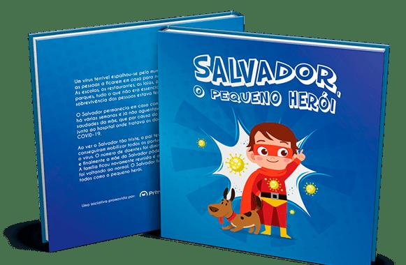 Capa Salvador, pequeno herói-ACEGIS