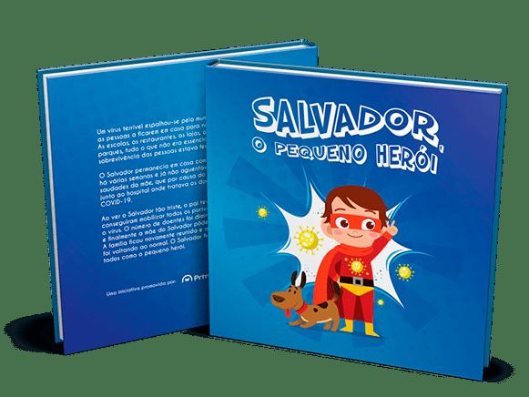 """""""Salvador, o pequeno herói"""": o livro infantil solidário contra a COVID-19"""