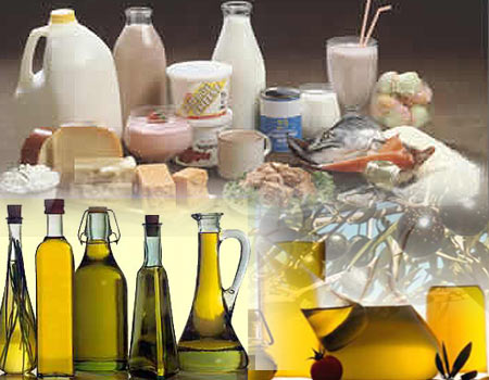 Ácidos Grasos Contenidos en los Alimentos