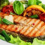 Salmon a la plancha con Aceite de Coco