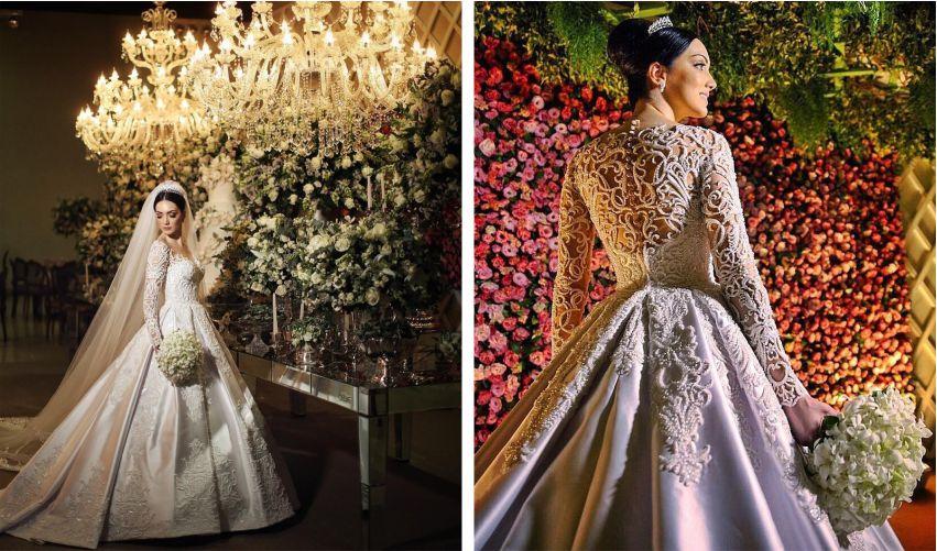 Fotos de vestido de noiva princesa