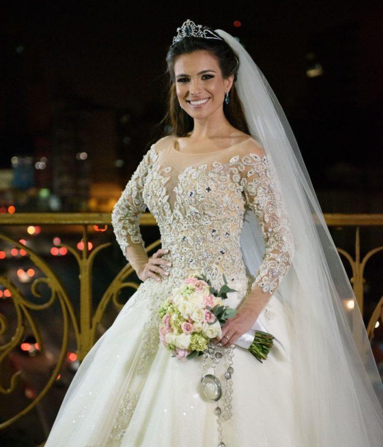 O vestido de noiva princesa de Kamila Salgado