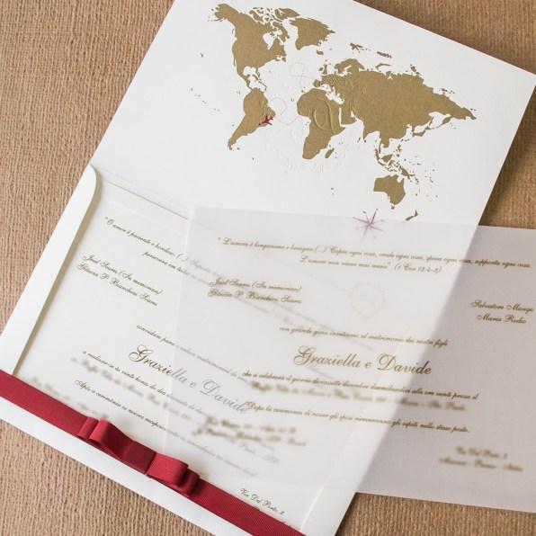 Convite de casamento em ingles e portugues