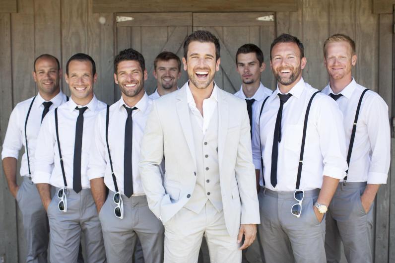 gravata para padrinhos de casamento