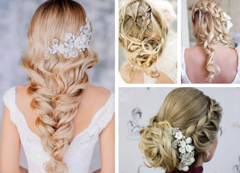 Penteado de noiva tranças