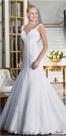 Vestido de Noiva - Triângulo Invertido