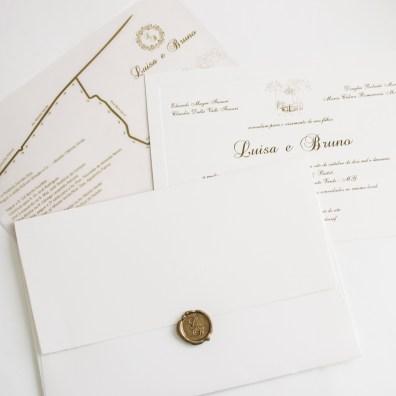 Casamento ao ar livre - Convite