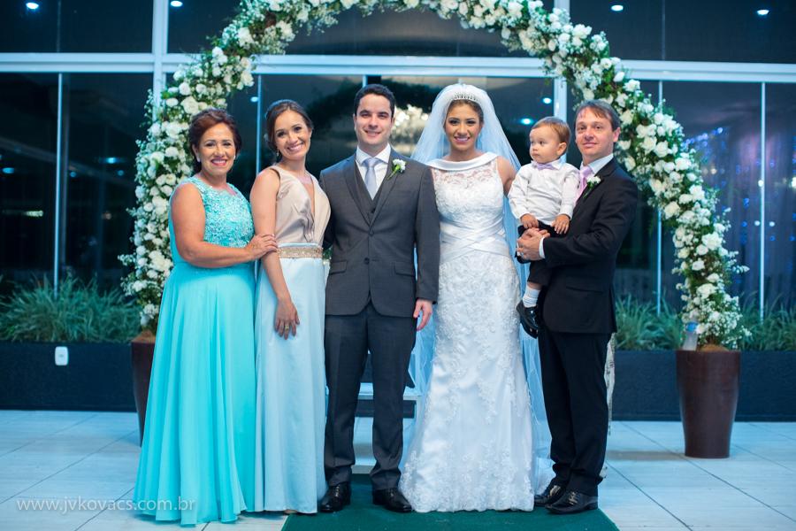 Família dos noivos