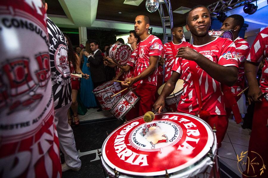 Atração especial - Escola de Samba do Consulado