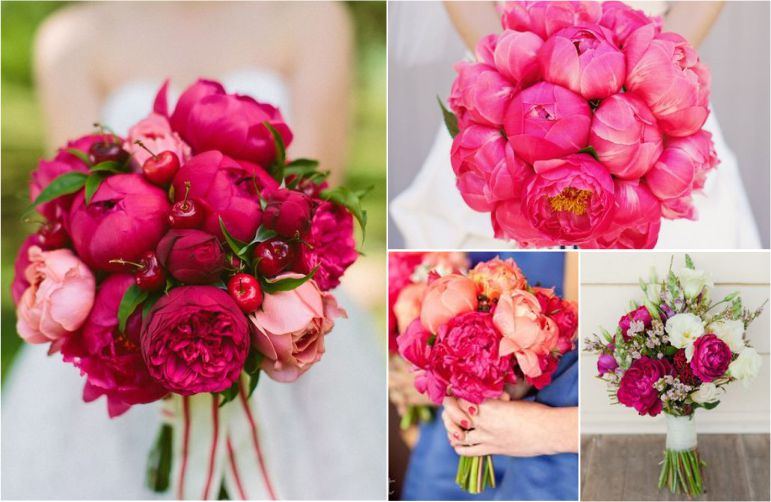 Buquê de Peônias Pink