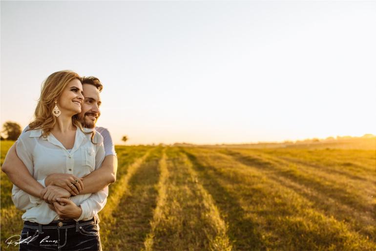 Ensaio de Casamento no Campo